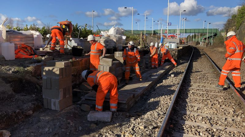 Nation wide Rail workers